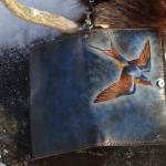 cuir teint  à la main GP-15- 150 $