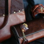 cuir cognac -vendu